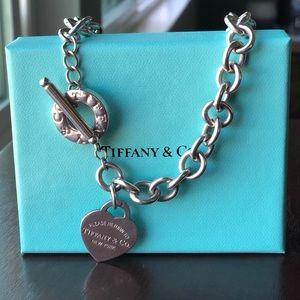 TIFFANY Heart Tag Necklace 💓